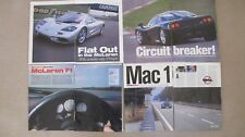 Maclaren F1 Collection- Road Test, Speed Record, More Autocar Articles, Rare Car