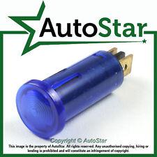 Azul luz de advertencia 12v 12 Voltios dash-board panel indicador clásico Kit Car Trike