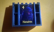 STRATEGO LOTR Board Game Part/Piece: GRAY ARMY #4 Haradrim Trilogy Edition Black