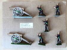 Soldados de Plomo Zinnfiguren,Inglaterra Artilleria Metropolitana Serie U num.4