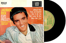 "ELVIS PRESLEY - JAILHOUSE ROCK - AARM GOLD AWARD EP 7"" 45 RECORD PIC SLV"