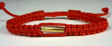 SAI SIN BUDDHA BRACELET RED BLESSED BY BUDDHIST MONK : LUCK & PROTECTION LIFE