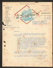 """MARSEILLE (13) MACHINES & MATERIEL de BUREAUTIQUE """"A. GESTETNER"""" en 1922"""