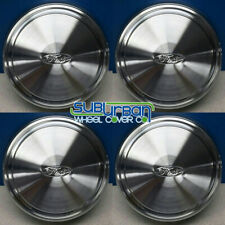 "16"" Ford Econoline Van E250 E350 F250 F350 Dog Dish Hubcaps F2UZ1015C NEW SET/4"