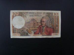 10  FRANCS  VOLTAIRE  1971   J 683