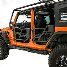 Rock Crawler Off Road Front+Rear Tubular 4 Door Fit 07-18 Jeep JK Wrangler