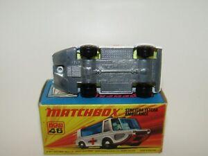 Matchbox Superfast No 46 Stretcha Fetcha Ambulance UNPAINTED BASE VNMIB