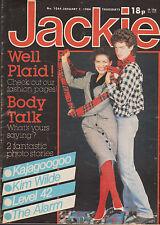 Jackie Magazine 7 January 1984 Issue 1044    Kajagoogoo    Kim Wilde    Level 42