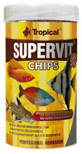 Tropical Supervit Chips 1000 ml Food for Fish Catfish Loach Ground Fish