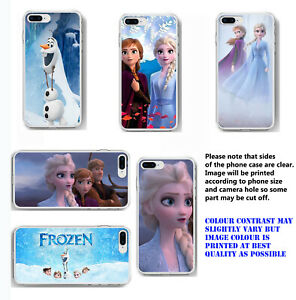 Frozen 2 phone case Elsa Anna Frozen Olaf mobile case for iPhone Samsung Huawei
