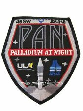 Pan Palladium At Night USA-207 Atlas V CIA NRO ULA DOD USAF Black Ops Patch New