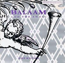 "BALAAM AND THE ANGEL She Knows 7"" Single Vinyl Record Double Pack Virgin 1986 EX"