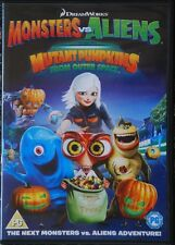 Monsters vs Aliens - Mutant Pumpkins From Outer Space DVD