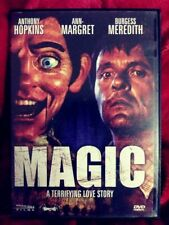 MAGIC (1978) DVD Anthony Hopkins *70's HORROR CLASSIC! *Ann-Margret **CREEPY!!**