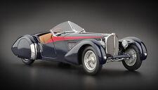 CMC M-135 Bugatti 57 SC Corsica Roadster, 1938 Red Stripes Edition 300 pcs, 1:18