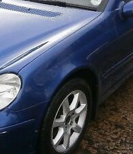 2001-2007 Mercedes C class W203 Left wing Fender panel Blue 345