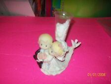 PRECIOUS MOMENTS   DOLL PORCELAIN FIGURE WEDDING CAKE TOPPER