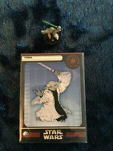 Star Wars Miniatures WOTC Yoda Very Rare Clone Strike # 26