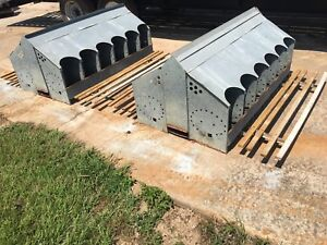 Nesting Box Galvanized Metal Chicken Coop Wall Storage Shelf Display 12 hole DS