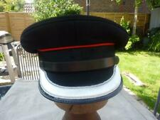 More details for british fire brigade officer's peaked cap hat with bullion peak, size 7 / 56