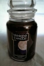 NEW Yankee Candle Midsummer's Night - Fresh Tree Scent -  Large Jar 22 oz