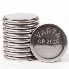 100 Varta Lithium coin Batteries 3v CR2025 CR 2025 DL2025