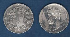 Charles X , 1824 - 1830 - Second Type d'effigie - 5 Francs 1827 L Bayonne TB +