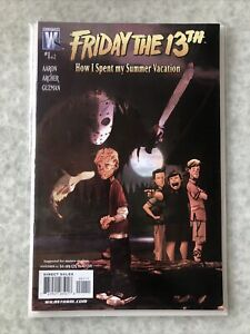 Friday The 13th How I Spent My Summer Vacation 1 and 2.  High Grade copies