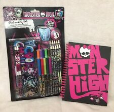 MONSTER HIGH STATIONERY & NOTEBOOK SET *BRAND NEW*