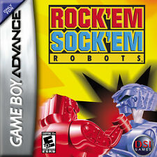 Rockem Sockem Robots GBA New Game Boy Advance