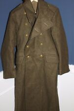 Original British Army 1951 Pattern Dismounted Wool Great Coat Size 5, Excellent