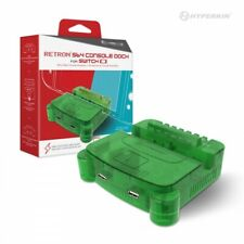 Hyperkin RetroN S64 Console Charging/TV Dock for Nintendo Switch - Lime Green