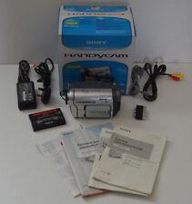 Coffret SONY Handycam DCR-TRV255E Caméscope numérique 8 Caméra Vidéo Cassette digital 8
