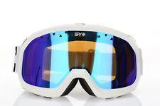 SPY OPTIC - TREVOR 158827 Ski Snow Goggles White Bronze With Blue Mirror Lens
