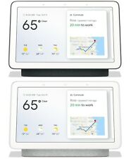 Google Nest Hub (Smart Assistant Bluetooth WLAN Display, Kreide Carbon Auswahl)