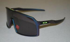 Oakley Sutro Sunglasses OO9406-6037 Green Purple Shift/Prizm Road Black NEW