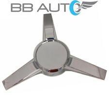 NEW for 2005-2009 FORD MUSTANG 3-Bar Spinner Chrome Wheel Center Cap Hub Cover