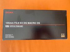 Sigma 105mm F2.8 EX DG Macro OS For Canon SLR