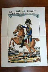 Le Général Drouot - Image d'Epinal