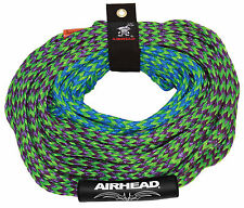 4 rider towable tube tow rope 2 section waterski rope 60ft c/w rope tidy + float