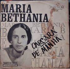 """MARIA BETHANIA 1965 Folk Bossa Caetano Veloso Debut Single PS 7"""" BRAZIL 45 HEAR"""