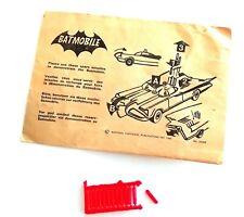 Vintage 1966 Corgi Toys ~ #267 BATMAN BATMOBILE ~ 12 x Rockets in Trade Envelope