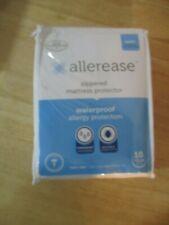 NIP twin ALLEREASE ZIPPERED MATTRESS PROTECTOR / waterproof allergy protector