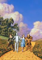 THE WIZARD OF OZ Movie PHOTO Print POSTER Textless Film Art Judy Garland Cast 2