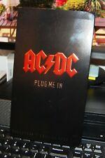 AC/DC - Plug Me In (DVD, 2007, 3-Disc Set, Box Set). UK MINT. COLLECTORS EDITION