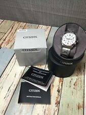 Citizen Watches Silver Dial Men'S Chronograph Mens An8130-53A *READ*
