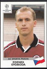 PANINI CALCIO ADESIVO-UEFA CHAMPIONS LEAGUE 1999-00 - N. 251-Sparta Praha