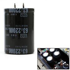 105°C Dimension 35x50mm Cylindrical 63V 22000UF Aluminum Electrolytic Capacitor