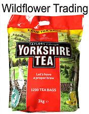 Taylors of harrogate yorkshire tea environ 1200 1 tasse thé sacs 3Kg thé noir