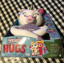 Htf Fingerlings Hugs Interactive Huge Large Plush Gigi Unicorn 2018